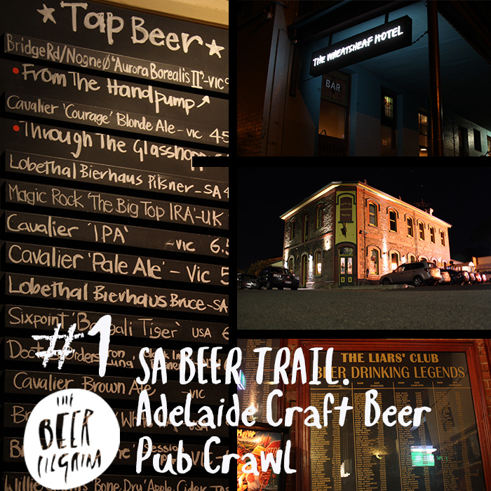 #1 Adelaide Craft Beer Pub Crawl - SA Beer Trail