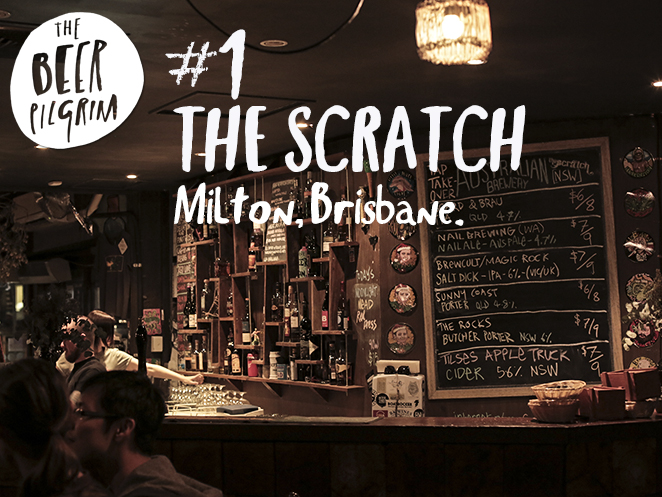 1 Brissy beer guide. The Scratch