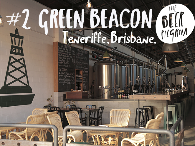 2 Brissy beer guide. Green Beacon