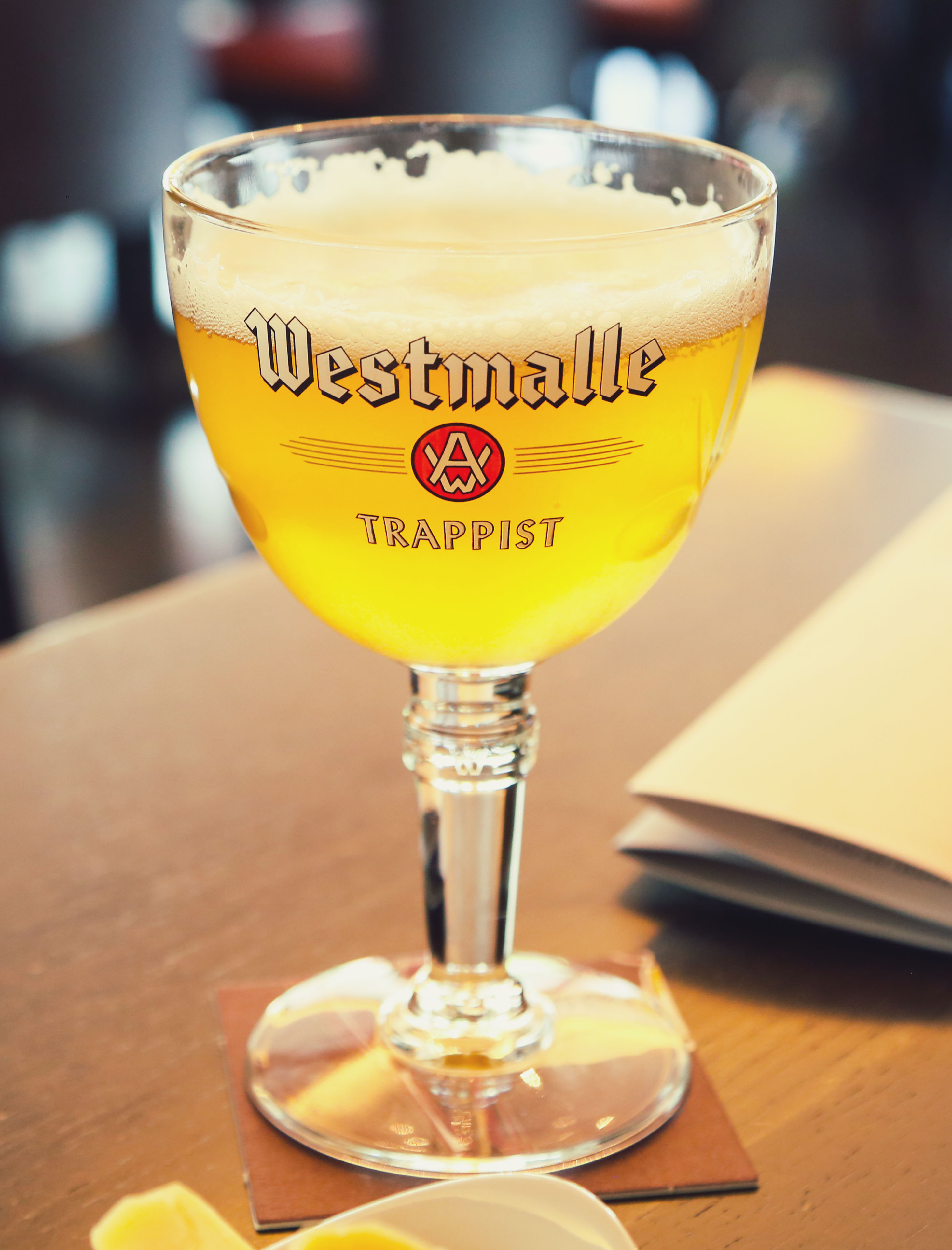 Westmalle extra abbey beer